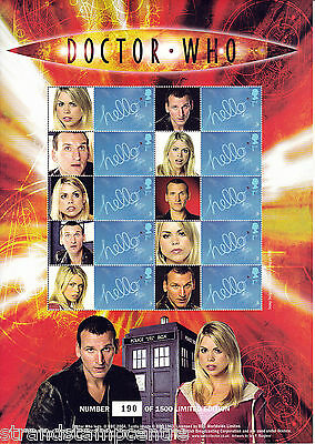 BC-058 - Doctor Who - The New Doctor - Smilers Stamp Sheet
