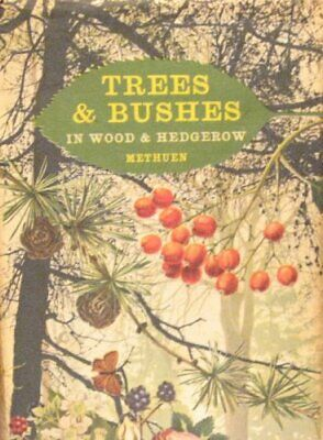Trees and Bushes in Wood and Hedgerow by Lange, J. Hardback Book The Cheap Fast