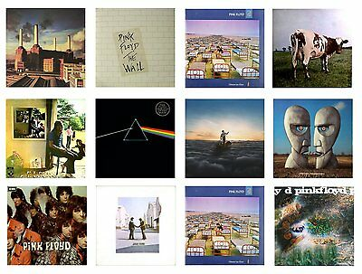 MINIATURE 1/12th Non Playable VINYL RECORD ALBUMS - PINK FLOYD - VARIOUS TITLES