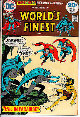 DC Comic! World's Finest! Issue 222!