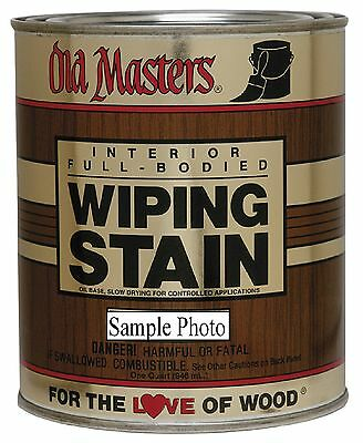 Old Masters Premium Wiping Stain Pick Desired Color In Pint Or Quart Pt Qt