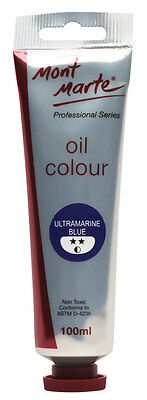 Mont Marte Oil Paint 100ml - Ultramarine Blue