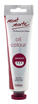Mont Marte Oil Paint 100ml - Magenta