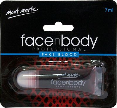 Mont Marte Face n Body Paint Fake Blood 7ml