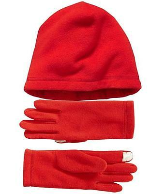 Old Navy Womens Performance Fleece Beanie &Tech Gloves Size S/M SET NEW with TAG