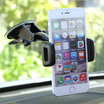 Car Mount Windshield Holder for Smart Cell Phone iPod iPhone Droid HTC MP3 GPS