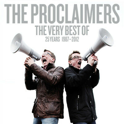 The Proclaimers : The Very Best Of: 25 Years 1987-2012 CD (2013) ***NEW***