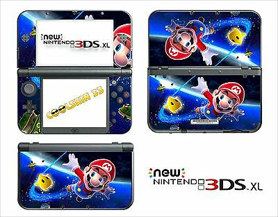 Skin Sticker Autocollant - Nintendo New 3Ds Xl - Ref 83 Mario