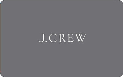 $50 J.Crew Gift Card - Mail Delivery