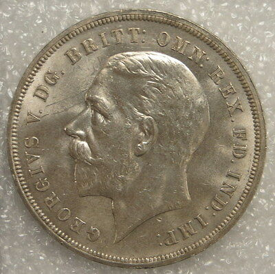 1935 Great Britain George V Crown Coin, ungraded