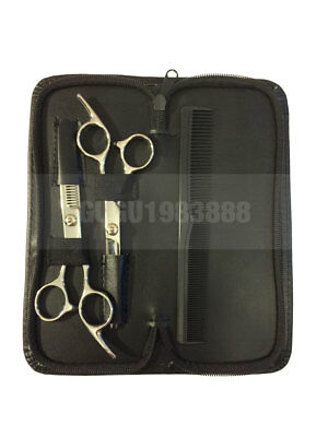 Professional Hair Cutting & Thinning Scissors Shears Hairdressing Set with case