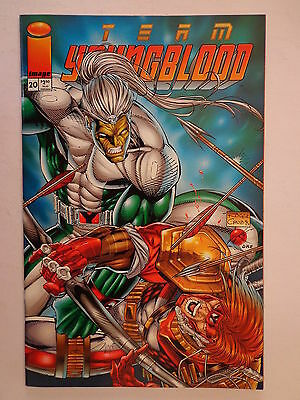 Team Youngblood Cruz Miki Liefeld Stephenson V. 1 #20 Image Comics July 1995 NM