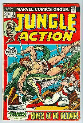 Jungle Action River of No Return Tharn Lorna #2 Marvel Comics December 1972 VG