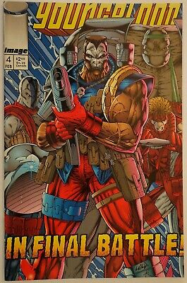 Youngblood Liefeld Miki Oliff Hathaway #4 Image Comics February 1993 NM