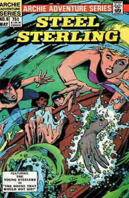 Steel Sterling Young Steelers Volume 1 #6 Archie Adventure Series May 1984 NM
