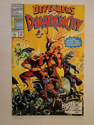 Defenders of Dynatron City Winnick Purcell V. 1 #1 Marvel Comic February 1992 NM