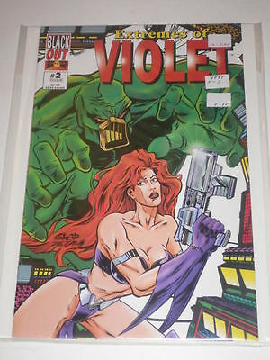 Extremes of Violet #2 Jake VF-NM Black Out Comics 1995