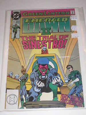 Green Lantern Emerald Dawn II #6 VF DC Comics Sep 1991