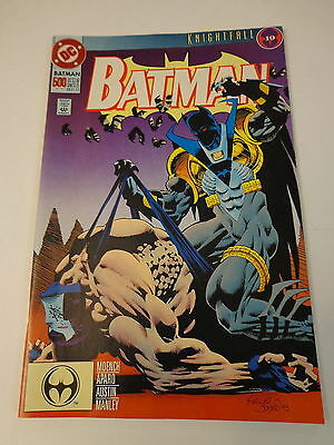 Batman 500 Knightfall, Collectors Edition October 1993 NM