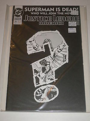 Justice League of America #71 VF-NM DC Comics Feb 1993