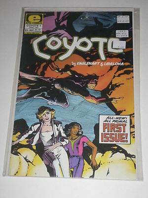 Coyote #1 VF Englehart & Leialoha Epic Comics Apr 1983