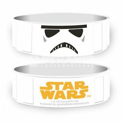 "Collectable Wristband - 1"" Silicone Bracelet - Star Wars - Stormtrooper"