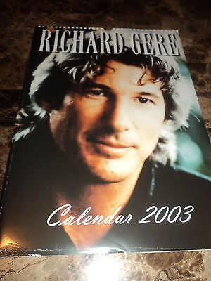 Richard Gere Sealed 2003 16 x 11unofficial calender