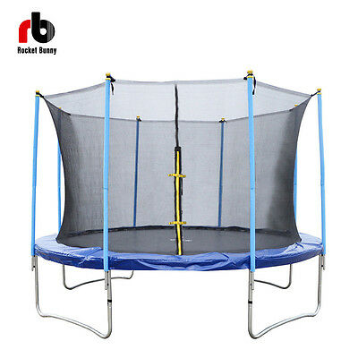 Rocket Bunny  6ft-14ft Trampoline with Safety Net for Kid/Adult Heavy Duty