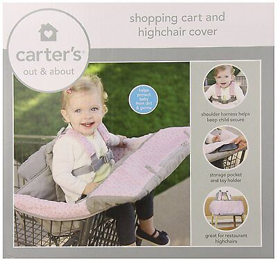 Carter's 2-In-1 Shopping Cart Cover, Pink from Carter's 52730  FREE SHIPPING