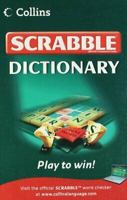 Collins Scrabble Dictionary by unknown Paperback Book The Cheap Fast Free Post