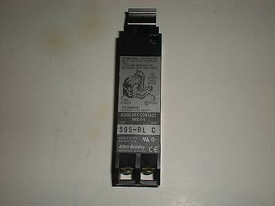 Allen Bradley 595-Bl 595Bl Series C Size 0-5 Auxiliary Contact
