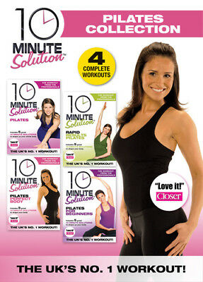 10 Minute Solution: The Pilates Collection DVD (2012) Andrea Ambandos ***NEW***