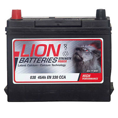 Type 038 320CCA 3 Years Warranty OEM Replacement Lion Batteries Car Battery 36Ah