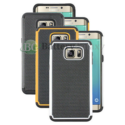 Lot of 3 Black/Orange/White Case for Android Phone Samsung Galaxy S6 Edge Plus
