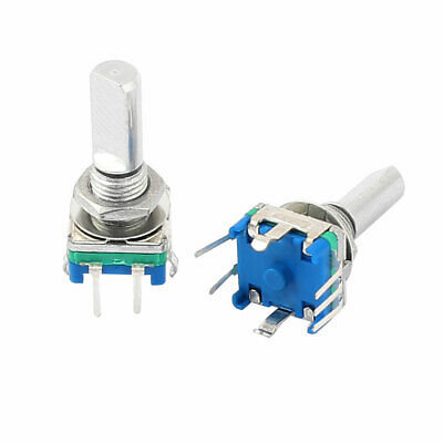 2pcs Digital 20 Detent Points 360 Degree Momentary Push Rotary Encoder Switch