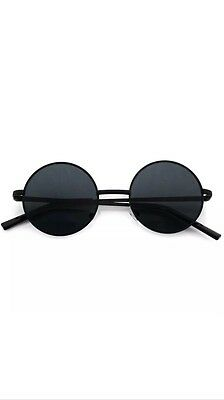 5fcdb2c3cdf JOHN LENNON SUNGLASSES Round Hippie Shades Retro Reflective Colored ...