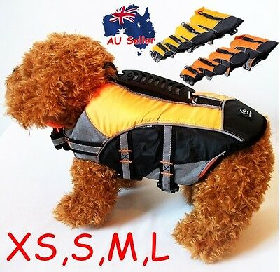 Dog Pet Water Safety Life Jacket Vest Reflective Clothes XS Small Medium Large