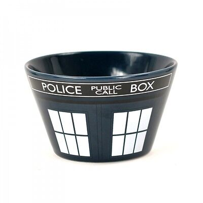 Stoneware Cereal or Soup Bowl - Dr Who Tardis Costume Design