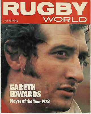 Rugby World Magazine July 1978 - Perfect Gift For A Fan Born In This Month