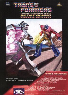 Transformers: Complete Original Series (Deluxe Edition) DVD (2002)