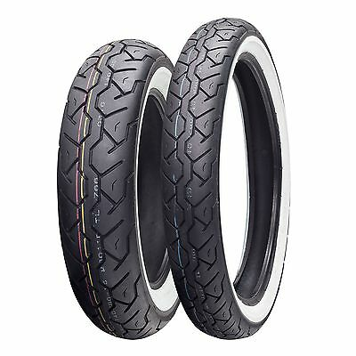 Maxxis M6011 Classic|Bobber|Racer 100/90/19 62H Whitewall Front Motorcycle Tyre