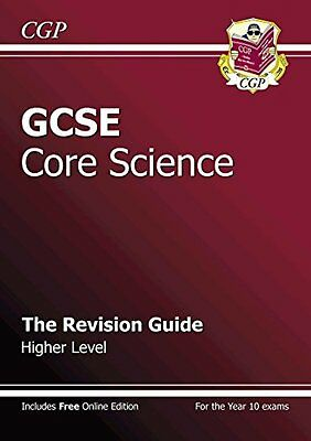 GCSE Core Science Revision Guide - Higher: The Revision ..., CGP Books Paperback