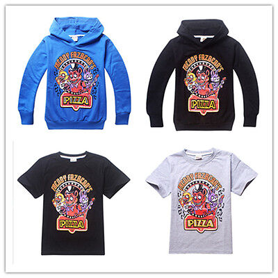 Boys clothes  Five Nights at Freddy's Sweatshirts Hoody T-Shirts & Tops 3-16 Y
