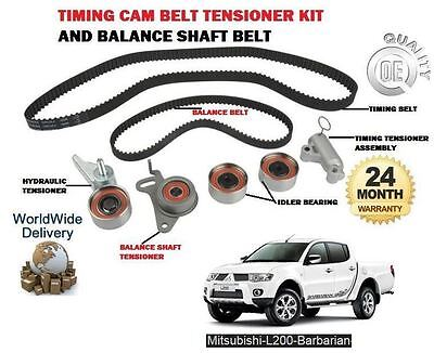 For Mitsubishi L200 Barbarian 2.5 Did 2006-  Timing Cam Belt + Balance Shaft Kit