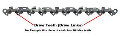 "TIMBERPRO 62 cc Spare Chain 20""  Chainsaw Saw Chains OREGON 76 x  21bpx"