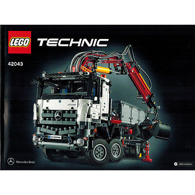 Lego Technic 42043 Mercedes-Benz Arocs 3245 Truck Instruction Booklet Manual NEW