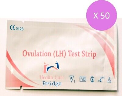 50X Ultra High Sensitivity Ovulation Home Urine Strip Tests ---Fast Delivery!!!