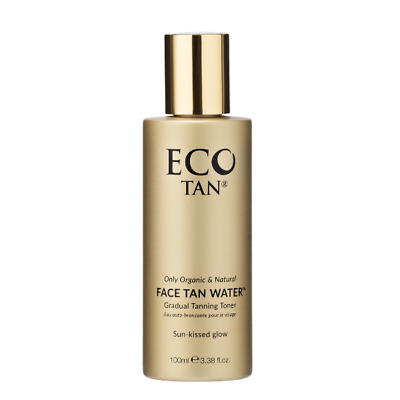 Eco Tan Certified Organic Face Tan Water (100ml) Natural Organic Self Tan NEW