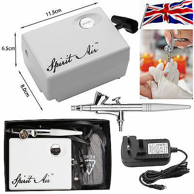 SP16 Beauty Special Airbrush Compressor Kit fr Makeup Cake Nail Tattoo Art Hobby
