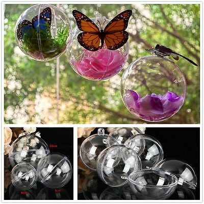 5pcs Wedding Party Hanging Ball Baubles Round Tree Easter Home Decor 6/8/10cm